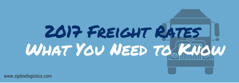 Freight Rates 2017 2017 freight rates