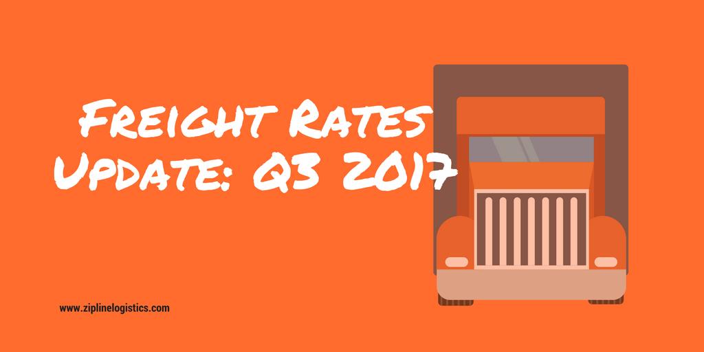 2017 Q3 Trucking Rates