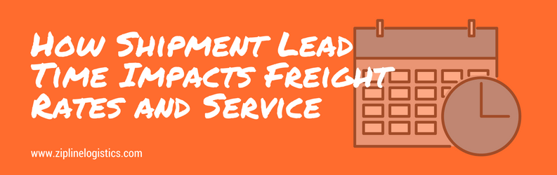 shipping lead time logistics lead time