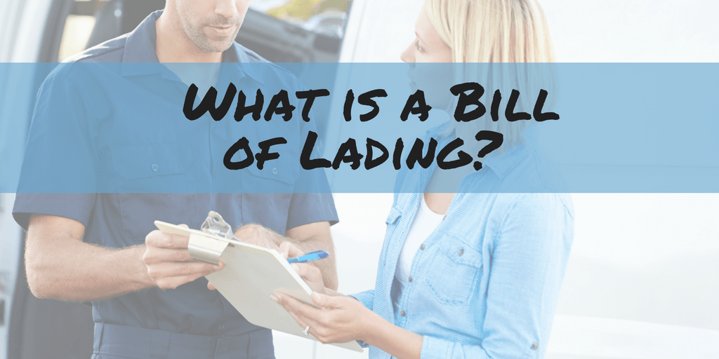 BOL shipping What is a BOL Bill of Lading