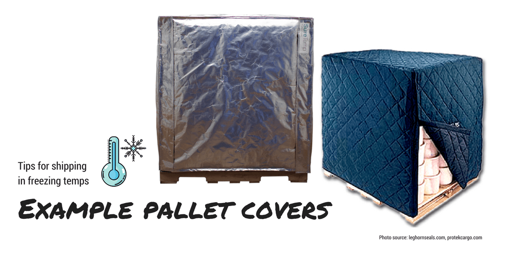 Example pallet coveres