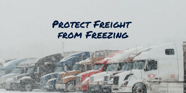 Shipping in Freezing Temps