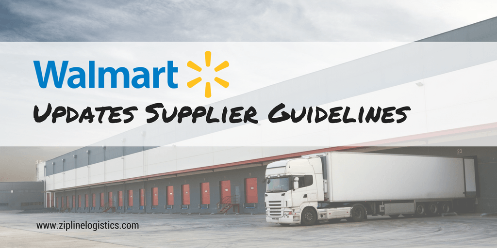 Walmart supplier guidelines
