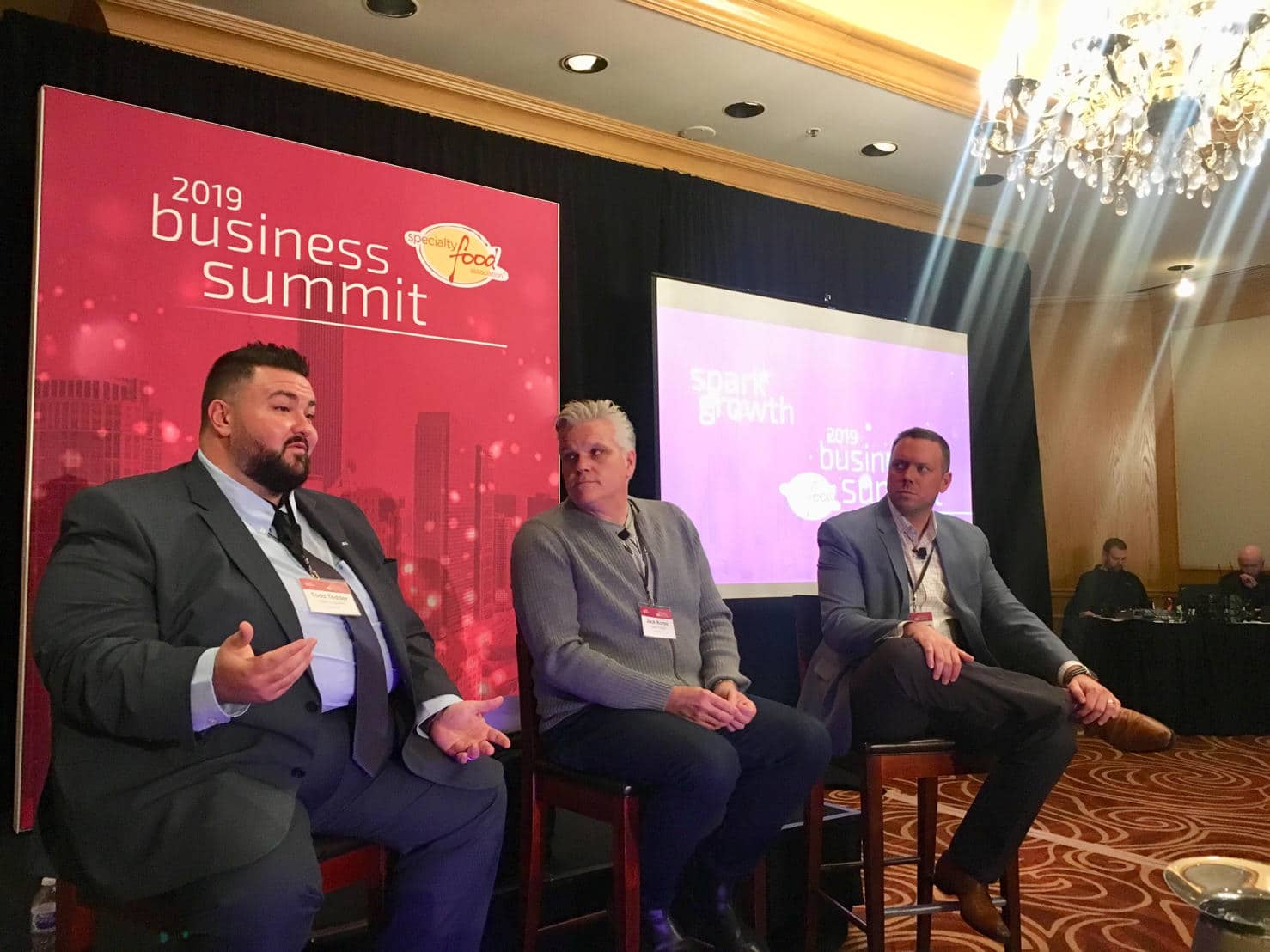 specialty food association biz summit 2019 logistics panel