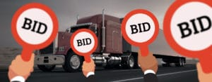 freight bid transportation RFP